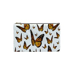 Butterfly Spoonflower Cosmetic Bag (small)  by Mariart