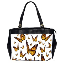 Butterfly Spoonflower Office Handbags (2 Sides)  by Mariart
