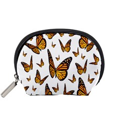 Butterfly Spoonflower Accessory Pouches (small)  by Mariart