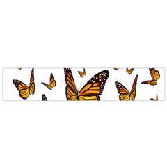 Butterfly Spoonflower Flano Scarf (small) by Mariart