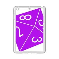 Number Purple Ipad Mini 2 Enamel Coated Cases by Mariart
