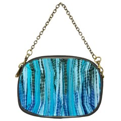 Line Tie Dye Green Kaleidoscope Opaque Color Chain Purses (two Sides)  by Mariart