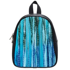 Line Tie Dye Green Kaleidoscope Opaque Color School Bags (small)  by Mariart