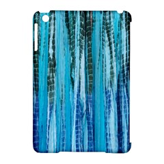 Line Tie Dye Green Kaleidoscope Opaque Color Apple Ipad Mini Hardshell Case (compatible With Smart Cover) by Mariart
