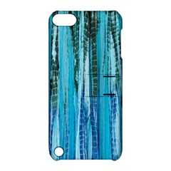 Line Tie Dye Green Kaleidoscope Opaque Color Apple Ipod Touch 5 Hardshell Case With Stand by Mariart