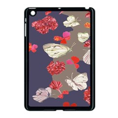 Original Butterfly Carnation Apple Ipad Mini Case (black) by Mariart