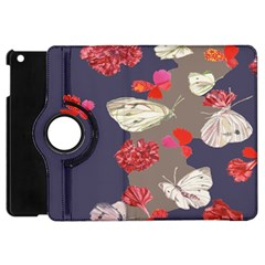 Original Butterfly Carnation Apple Ipad Mini Flip 360 Case by Mariart