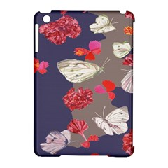 Original Butterfly Carnation Apple Ipad Mini Hardshell Case (compatible With Smart Cover) by Mariart