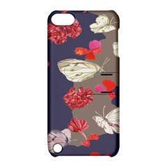 Original Butterfly Carnation Apple Ipod Touch 5 Hardshell Case With Stand by Mariart