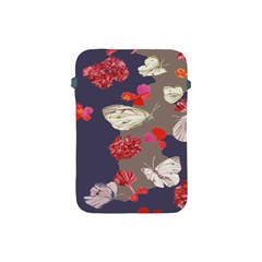 Original Butterfly Carnation Apple Ipad Mini Protective Soft Cases by Mariart