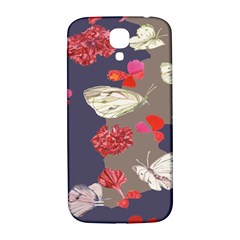 Original Butterfly Carnation Samsung Galaxy S4 I9500/i9505  Hardshell Back Case by Mariart