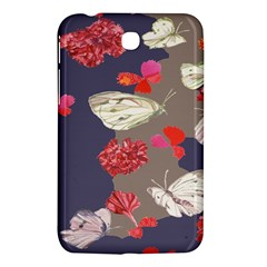 Original Butterfly Carnation Samsung Galaxy Tab 3 (7 ) P3200 Hardshell Case  by Mariart