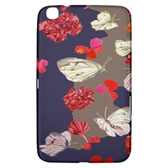 Original Butterfly Carnation Samsung Galaxy Tab 3 (8 ) T3100 Hardshell Case  by Mariart
