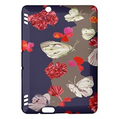 Original Butterfly Carnation Kindle Fire Hdx Hardshell Case by Mariart