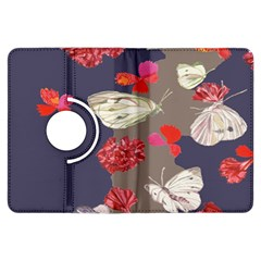 Original Butterfly Carnation Kindle Fire Hdx Flip 360 Case by Mariart