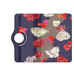 Original Butterfly Carnation Kindle Fire Hdx 8 9  Flip 360 Case by Mariart