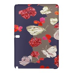 Original Butterfly Carnation Samsung Galaxy Tab Pro 10 1 Hardshell Case by Mariart