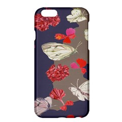 Original Butterfly Carnation Apple Iphone 6 Plus/6s Plus Hardshell Case by Mariart