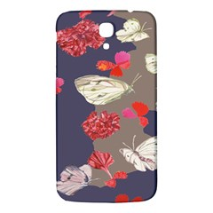 Original Butterfly Carnation Samsung Galaxy Mega I9200 Hardshell Back Case by Mariart