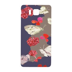 Original Butterfly Carnation Samsung Galaxy Alpha Hardshell Back Case by Mariart