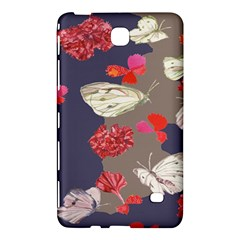 Original Butterfly Carnation Samsung Galaxy Tab 4 (7 ) Hardshell Case  by Mariart