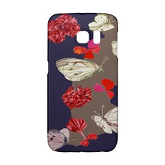 Original Butterfly Carnation Galaxy S6 Edge by Mariart
