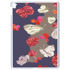 Original Butterfly Carnation Apple Ipad Pro 9 7   White Seamless Case by Mariart