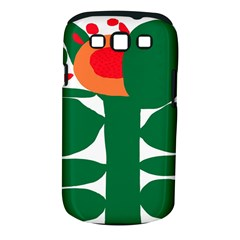 Portraits Plants Sunflower Green Orange Flower Samsung Galaxy S Iii Classic Hardshell Case (pc+silicone) by Mariart