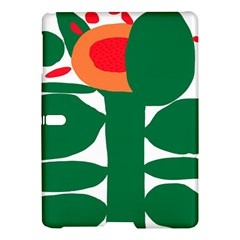 Portraits Plants Sunflower Green Orange Flower Samsung Galaxy Tab S (10 5 ) Hardshell Case  by Mariart