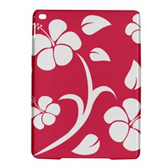 Pink Hawaiian Flower White Ipad Air 2 Hardshell Cases by Mariart