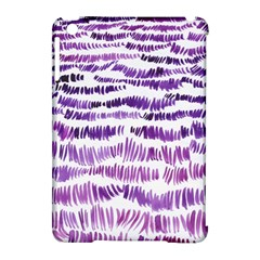 Original Feather Opaque Color Purple Apple Ipad Mini Hardshell Case (compatible With Smart Cover) by Mariart