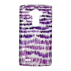 Original Feather Opaque Color Purple Lg G4 Hardshell Case by Mariart