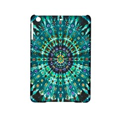 Peacock Throne Flower Green Tie Dye Kaleidoscope Opaque Color Ipad Mini 2 Hardshell Cases by Mariart