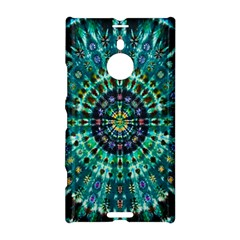 Peacock Throne Flower Green Tie Dye Kaleidoscope Opaque Color Nokia Lumia 1520 by Mariart