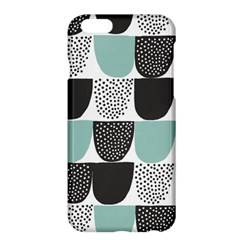 Sugar Blue Fabric Polka Dots Circle Apple Iphone 6 Plus/6s Plus Hardshell Case by Mariart