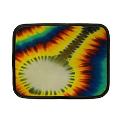 Red Blue Yellow Green Medium Rainbow Tie Dye Kaleidoscope Opaque Color Netbook Case (small)  by Mariart