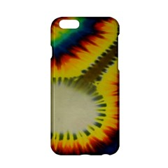 Red Blue Yellow Green Medium Rainbow Tie Dye Kaleidoscope Opaque Color Apple Iphone 6/6s Hardshell Case by Mariart