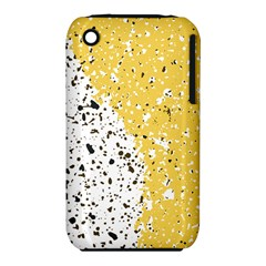 Spot Polka Dots Orange Black Iphone 3s/3gs by Mariart