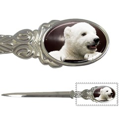 Polar Bear Cub Smile Letter Opener by CustomYourOwn