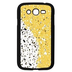 Spot Polka Dots Orange Black Samsung Galaxy Grand Duos I9082 Case (black) by Mariart