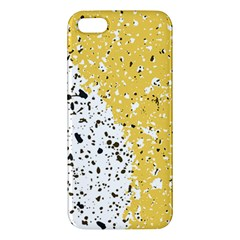 Spot Polka Dots Orange Black Iphone 5s/ Se Premium Hardshell Case by Mariart