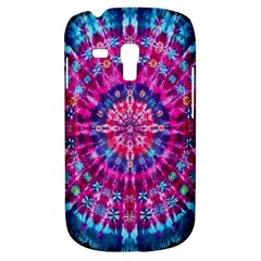 Red Blue Tie Dye Kaleidoscope Opaque Color Circle Galaxy S3 Mini