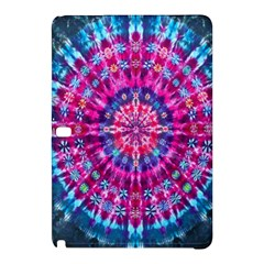 Red Blue Tie Dye Kaleidoscope Opaque Color Circle Samsung Galaxy Tab Pro 10 1 Hardshell Case by Mariart