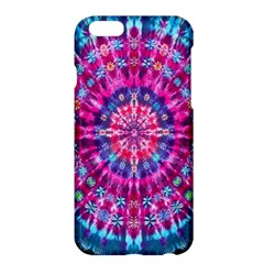 Red Blue Tie Dye Kaleidoscope Opaque Color Circle Apple Iphone 6 Plus/6s Plus Hardshell Case by Mariart