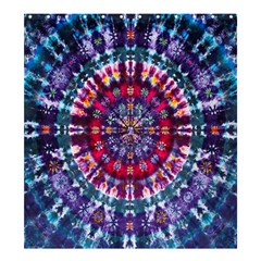 Red Purple Tie Dye Kaleidoscope Opaque Color Shower Curtain 66  X 72  (large)  by Mariart