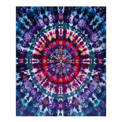 Red Purple Tie Dye Kaleidoscope Opaque Color Shower Curtain 60  X 72  (medium)  by Mariart