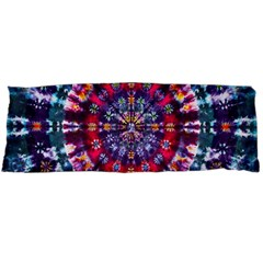 Red Purple Tie Dye Kaleidoscope Opaque Color Body Pillow Case (dakimakura) by Mariart