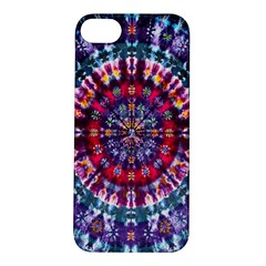 Red Purple Tie Dye Kaleidoscope Opaque Color Apple Iphone 5s/ Se Hardshell Case by Mariart