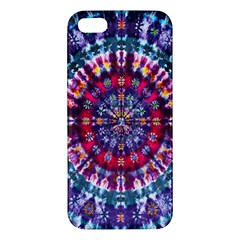 Red Purple Tie Dye Kaleidoscope Opaque Color Iphone 5s/ Se Premium Hardshell Case by Mariart