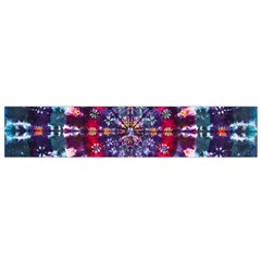 Red Purple Tie Dye Kaleidoscope Opaque Color Flano Scarf (small) by Mariart